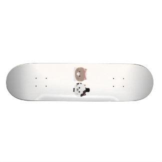 Cat Wedding Couple Zn557 19.7 Cm Skateboard Deck