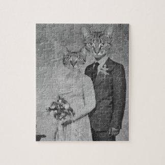Cat wedding puzzle