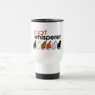 Cat Whisperer Coffee Mugs