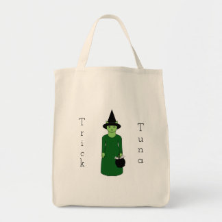 Cat Witch Trick-or-Treat Bag