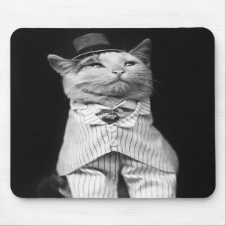 Cat With a Hat 1906 Mouse Pad