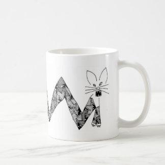 cat with angles coffee mugs