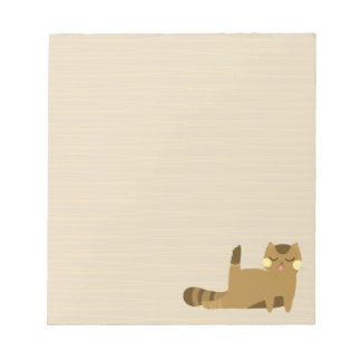 Cat with attitude notepad