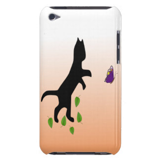 Cat With Butterfly iPod Touch Covers