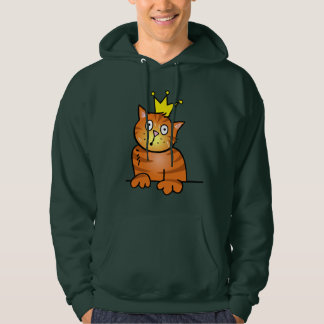 Cat with Crown - Hoodie