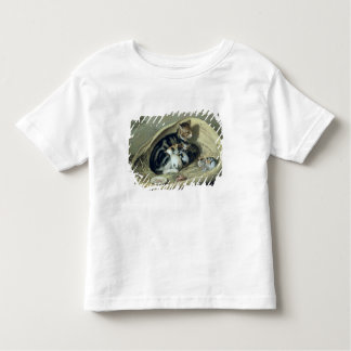 Cat with Her Kittens in a Basket, 1797 Toddler T-Shirt
