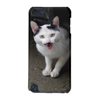 Cat with Mustache iPod Touch (5th Generation) Covers