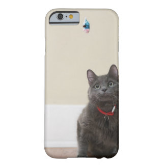 Cat with toy barely there iPhone 6 case