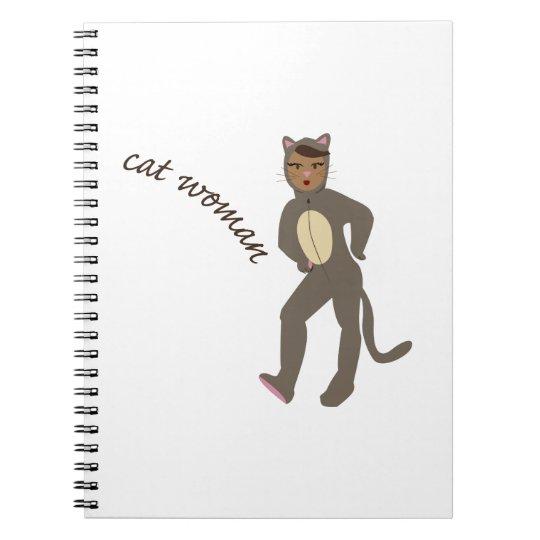 Cat Woman Notebook