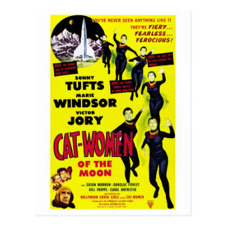 """Cat Women of the Moon"" Postcard"