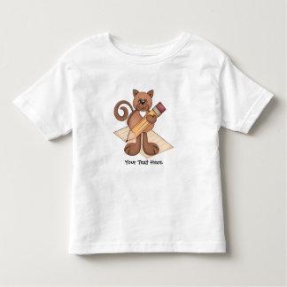 Cat Writer Toddler T-Shirt