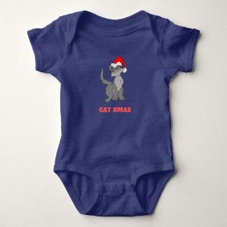Cat Xmas Baby Bodysuit