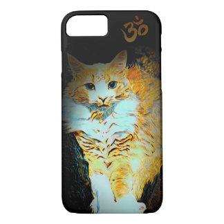 Cat Yoga Aum Cute iPhone Case