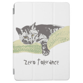 Cat Zero Tolerance iPad Air Cover