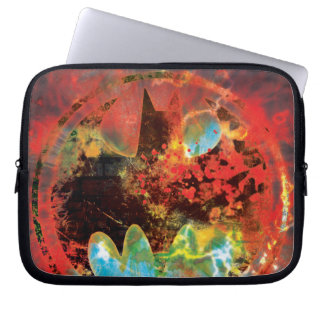 Cataclysmic Bat Logo Laptop Sleeve