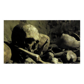 catacomb bones Double-Sided standard business cards (Pack of 100)