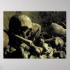 catacomb bones poster