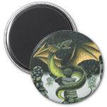 Catacomb Dragon 6 Cm Round Magnet