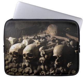 Catacombs Skulls Laptop Sleeve