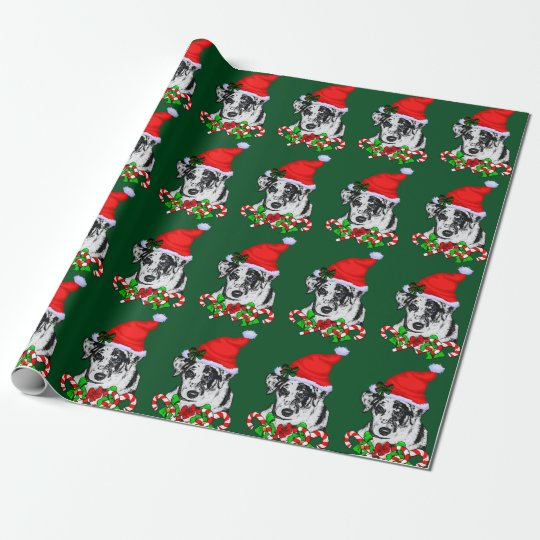Catahoula Leopard Dog Christmas Wrapping Paper
