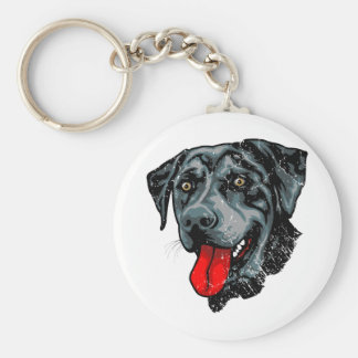 Catahoula Leopard Dog Key Ring