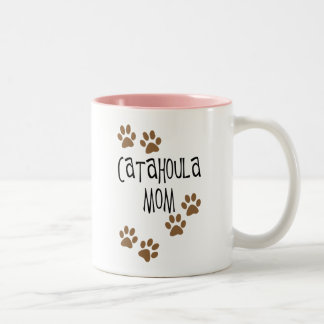Catahoula Mom Two-Tone Coffee Mug