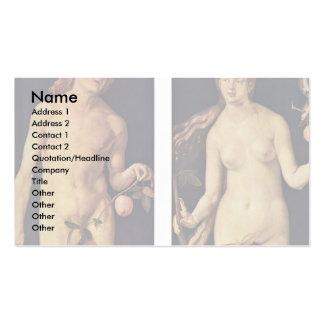 Català: L'Adam I L'Eva, Adam And Eve Business Card