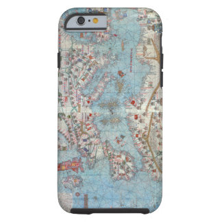 Catalan Atlas: Detail of North Africa and Europe, Tough iPhone 6 Case