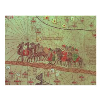 Catalan Atlas, detail showing Postcard