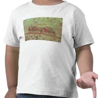 Catalan Atlas, detail showing Tee Shirts