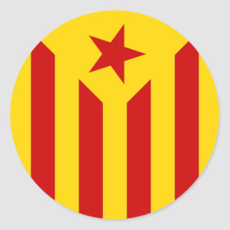 Catalan flag sticker