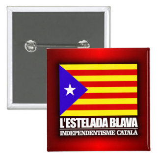 Catalan Independence 15 Cm Square Badge