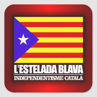 Catalan Independence Square Sticker