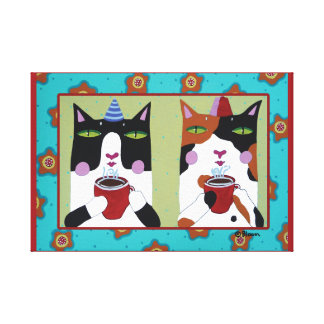 Catalatte Canvas Print