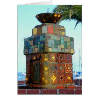 Catalina Fountain Card