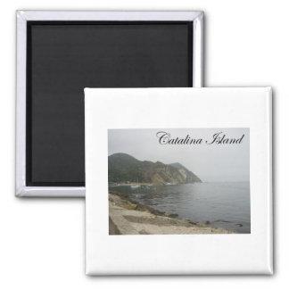 Catalina Island 5 Square Magnet