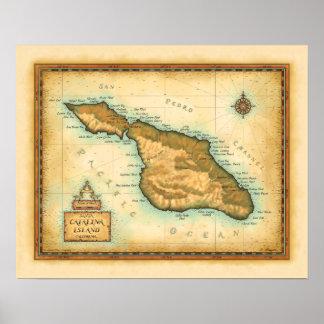 Catalina Island California Poster