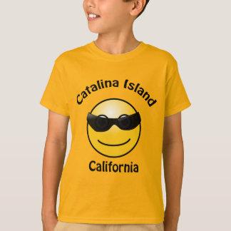 Catalina Island California Smilie Kids T-shirt