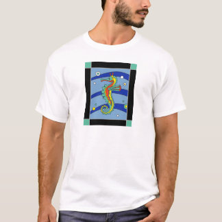 Catalina Island Seahorse Tile T-Shirt