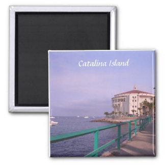 Catalina Island Square Magnet