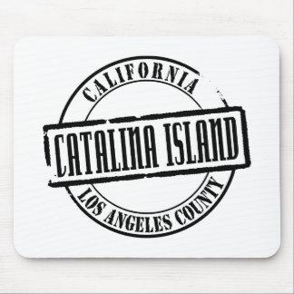 Catalina Island Title Mousepad