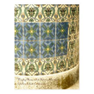 Catalina Tile Postcard