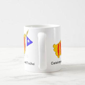 Catalonia, Frieden und Freiheit Coffee Mugs