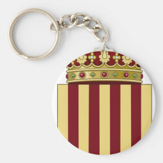 Catalonia (Spain) Coat of Arms Keychain