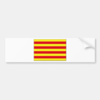 Catalonia (Spain)  Flag Bumper Sticker
