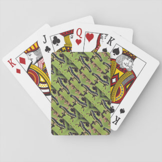 Catalpa Worms Camo Catfish Fishing Poker Deck