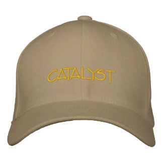 Catalyst hat embroidered baseball cap