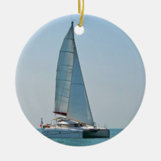 Catamaran Clara Christmas Ornament