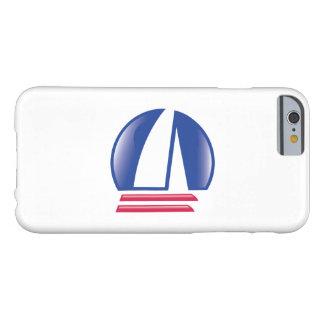 Catamaran Sailing_Pontoon Racing_Blue Moon_white Barely There iPhone 6 Case