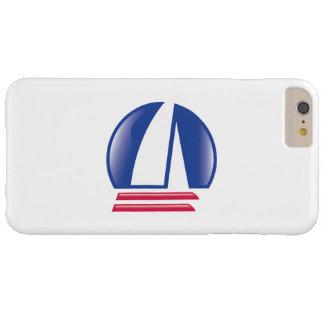Catamaran Sailing_Pontoon Racing_Blue Moon_white Barely There iPhone 6 Plus Case